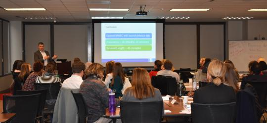Guided learning collaborative for behavioral health agencies