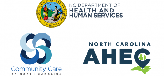 NC DHHS COVID-19 Healthcare Professional Webinar Series, in partnership with CCNC and AHEC